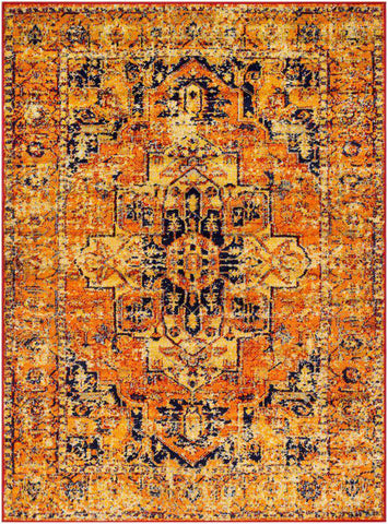 Monte Carlo MNC-2316 Bright Orange Rug