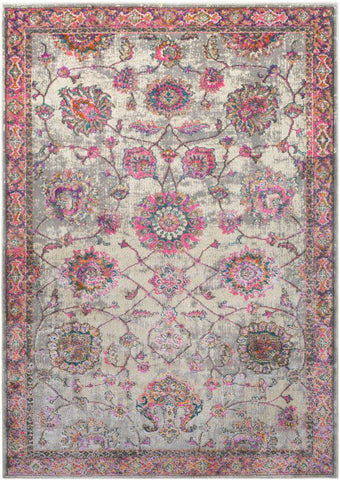 Marrakesh MRH 2308 Pink Gray Rug