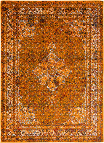 Mumbai MUM-2304 Saffron Rug Rectangle 2 x 2.92
