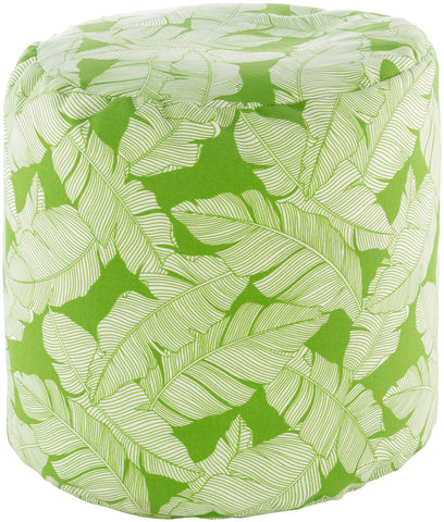 Musa  MUPF-002 Grass Green/White Pouf