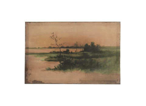 Abode Df2895 Landscape Vintage Reproduction Canvas Art