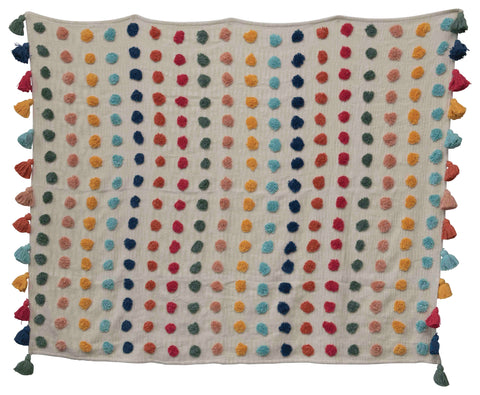 Little One Df2390 Multicolored Throw Blanket