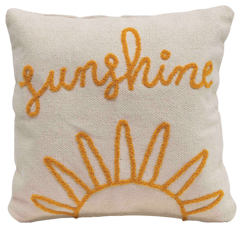 Little One Df2510 Natural And Mustard Pillow