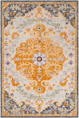 Panipat PNP-2301 Burnt Orange Rug