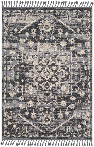 Restoration REO 2300 Black, Gray Rug