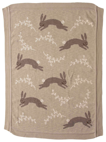 Little One Df2528 Bunny Throw Blanket