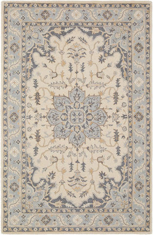 Viva VVA-1003 Light Gray Rug Rectangle 2 x 3