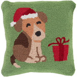 Winter WIT-017 Grass Green Pillow