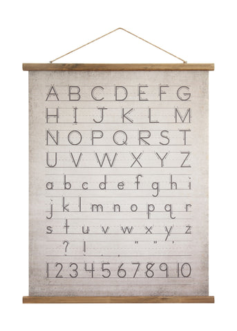 Little One Da9292 Alphabet & Numbers Wall Decor