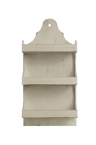 Thicket Df2831 Heavily Distressed 3-Tier Wood Wall Shelves