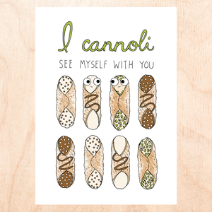 CANNOLI SEE MYSELF WITH YOU