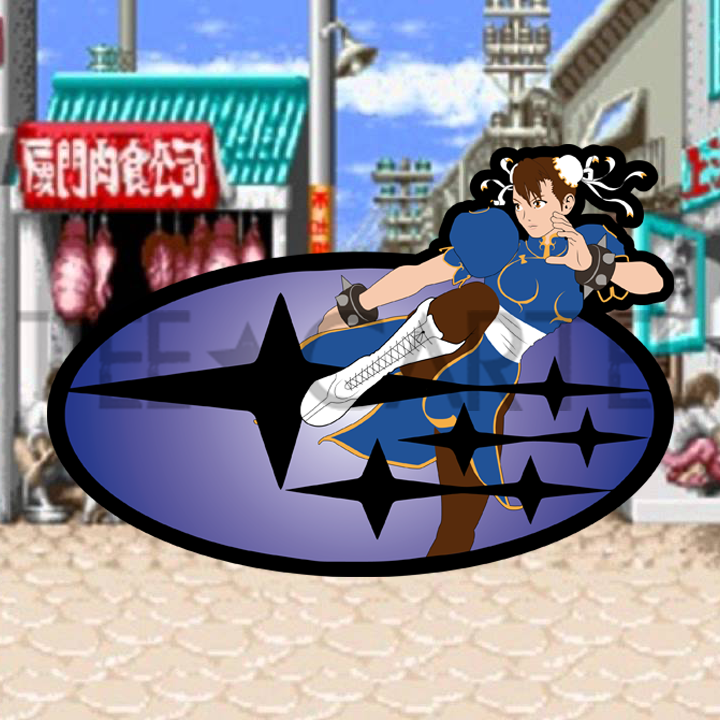 Street Race Fighter - CHUN