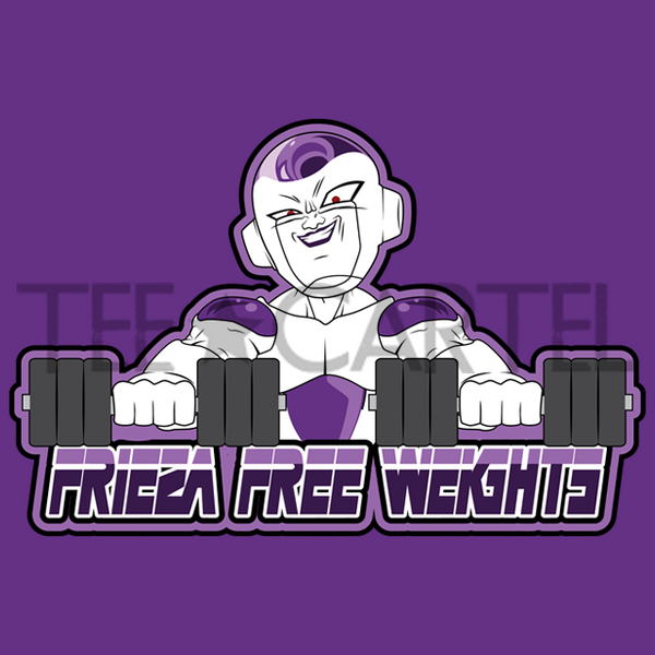 Dragon Dumbbell Z - Frieza Free Weights
