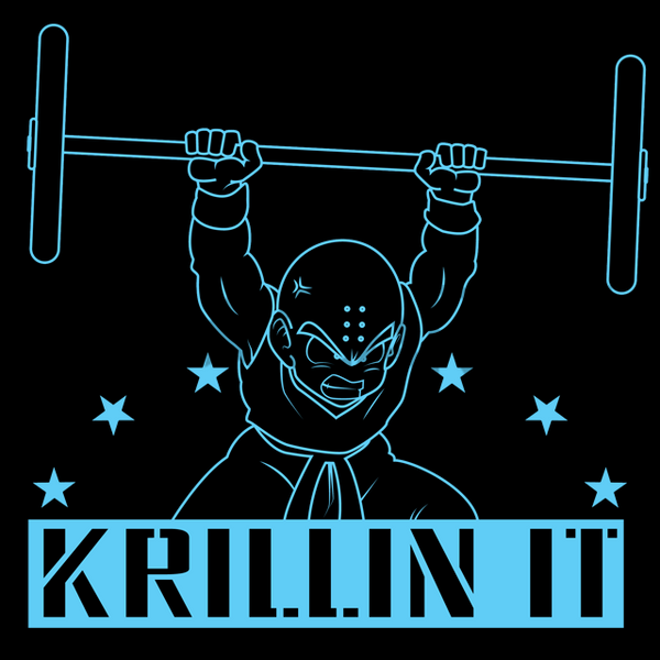 Dragon Dumbbell Z - Krillin It