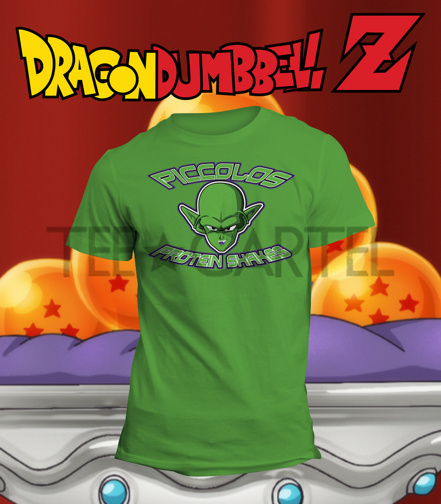 Dragon Dumbbell Z - Piccolo's Protein Shakes