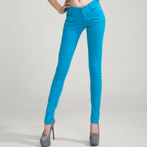 Candy Skinny Jeans in Blue