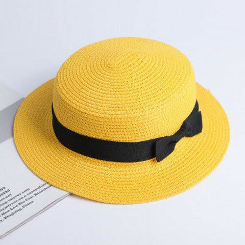 Family Reunion Panama Hat - Yellow