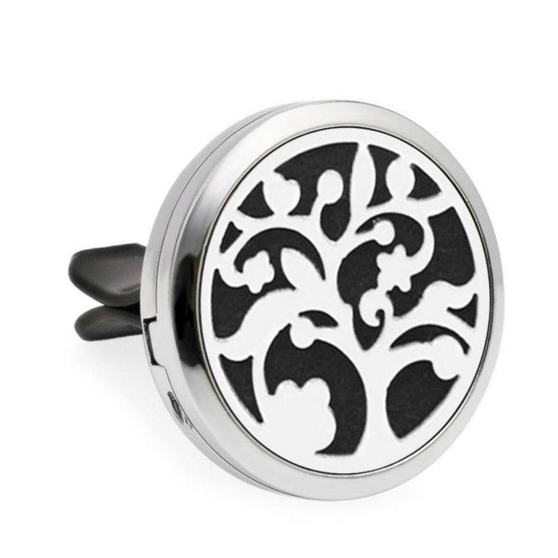 Aromatherapy Car Diffuser Locket - Black Tree