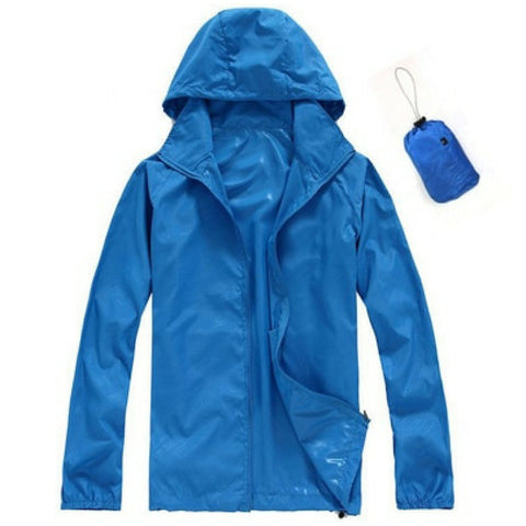 Quick Dry Waterproof Jacket in Royal Blue