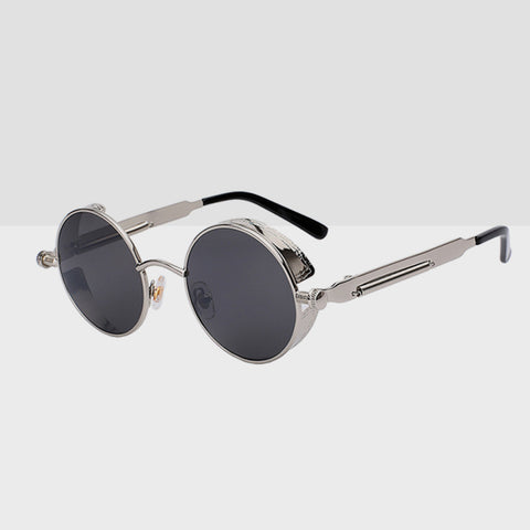 Linder Retro Sunglasses - Silver