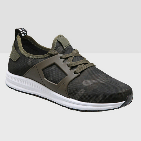 Camo Army Canvas Shoes - Army Green