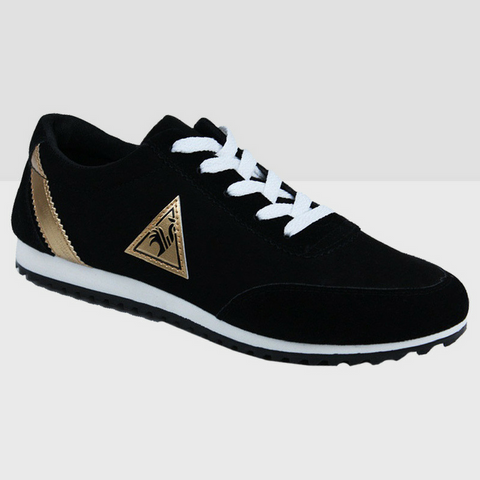 Athletic Running Shoes - Black