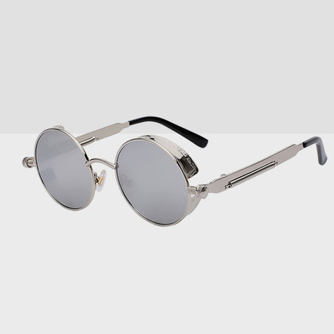 Round Hipster Sunglasses - Grey