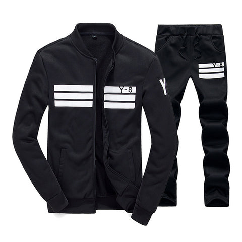 Chic Athletic Tracksuit by Linder - Black