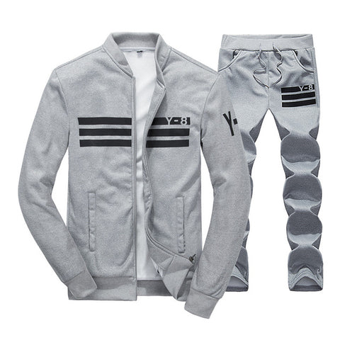 Chic Athletic Tracksuit by Linder - Grey