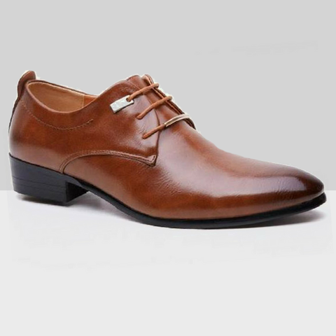 Derby Shoes in Brown