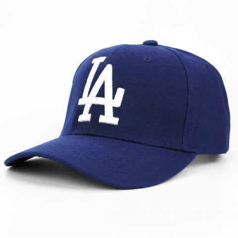 LA Baseball Cap by Linder - Blue