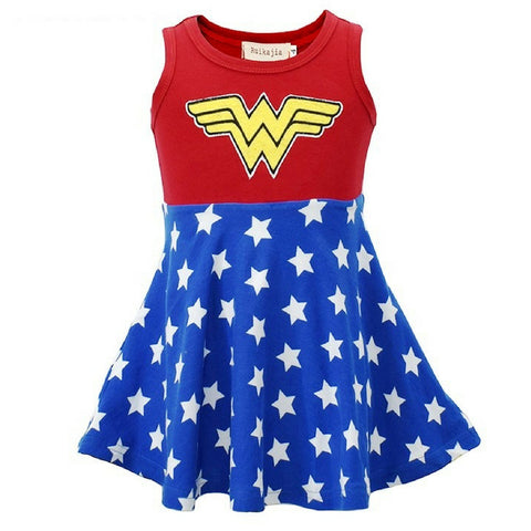 Wonder Woman Kids Dress