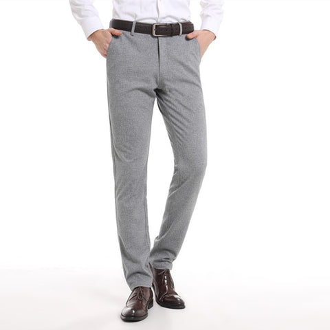 Slim Fit Trousers - Light Grey
