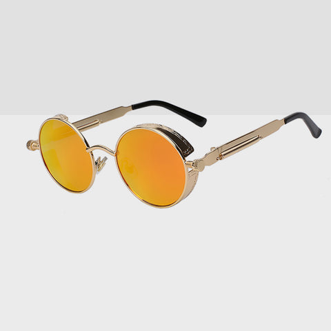 Round Hipster Sunglasses - Sunrise