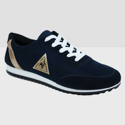Athletic Running Shoes - Blue