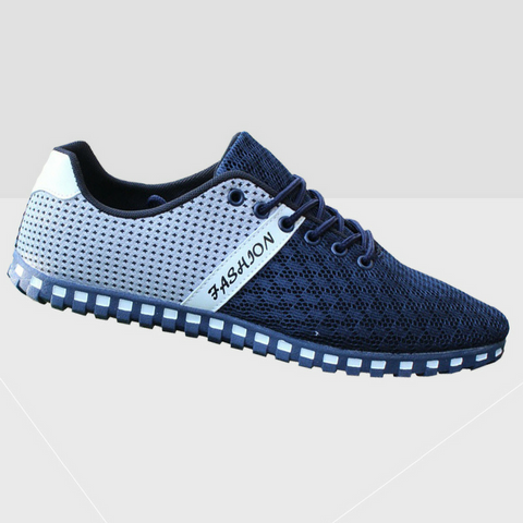 Breathable Sport Shoes - Navy Blue