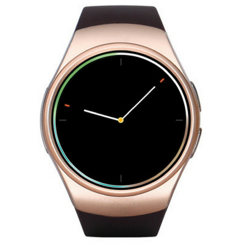 Heart Rate Smart Watch - Gold