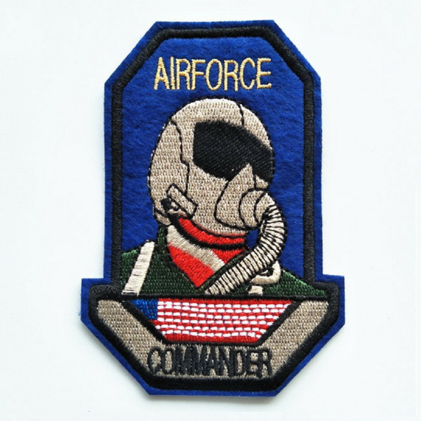 Airforce Commander Embroidery Badges