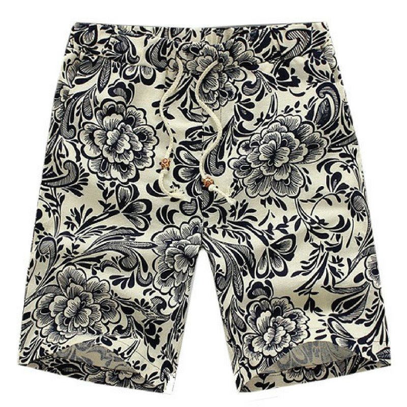 Beach Summer Shorts - Navy Blue