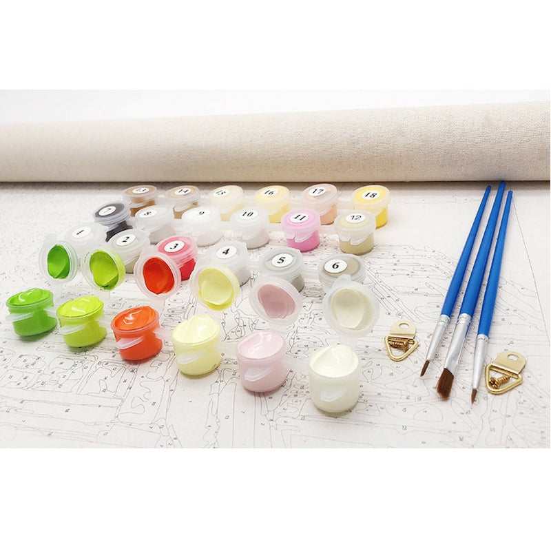 An Abundance of Flowers Paint By Number Kit