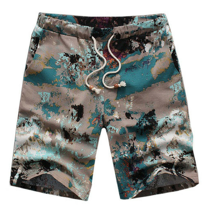 Beach Summer Shorts - Grey