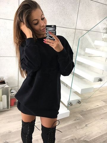 Oversized Lightweight Sweatshirt in Grey