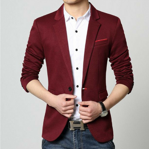 New Look Slim Fit  Red