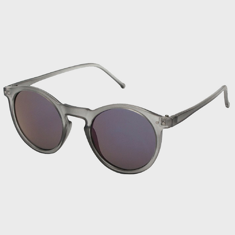 Round Shape Polarized Sunglasses-Grey