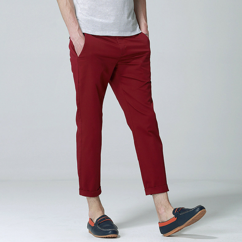 Anbica Royal Chinos-Maroon