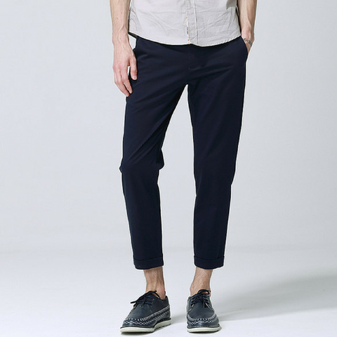 Anbica Royal Chinos-Dark Blue