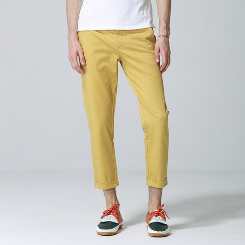 Anbica Royal Chinos-Light Khaki