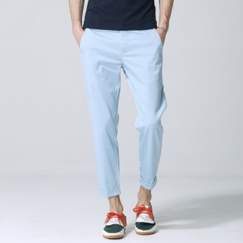Anbica Royal Chinos-Light Blue