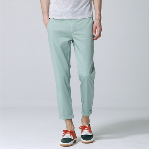 Anbica Royal Chinos-Light Green