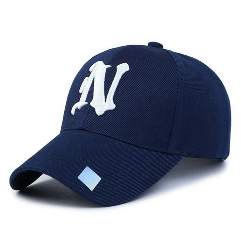 N  Embroidered Hats-Navy
